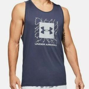 UNDER ARMOUR Tech 2.0 Quick Dry Graphic Tank Top